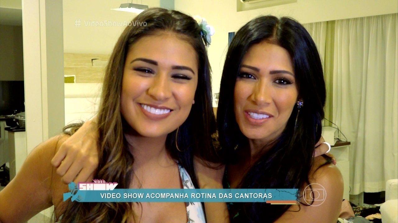 Video Show acompanha a estreia de Simone e Simaria em palcos cariocas