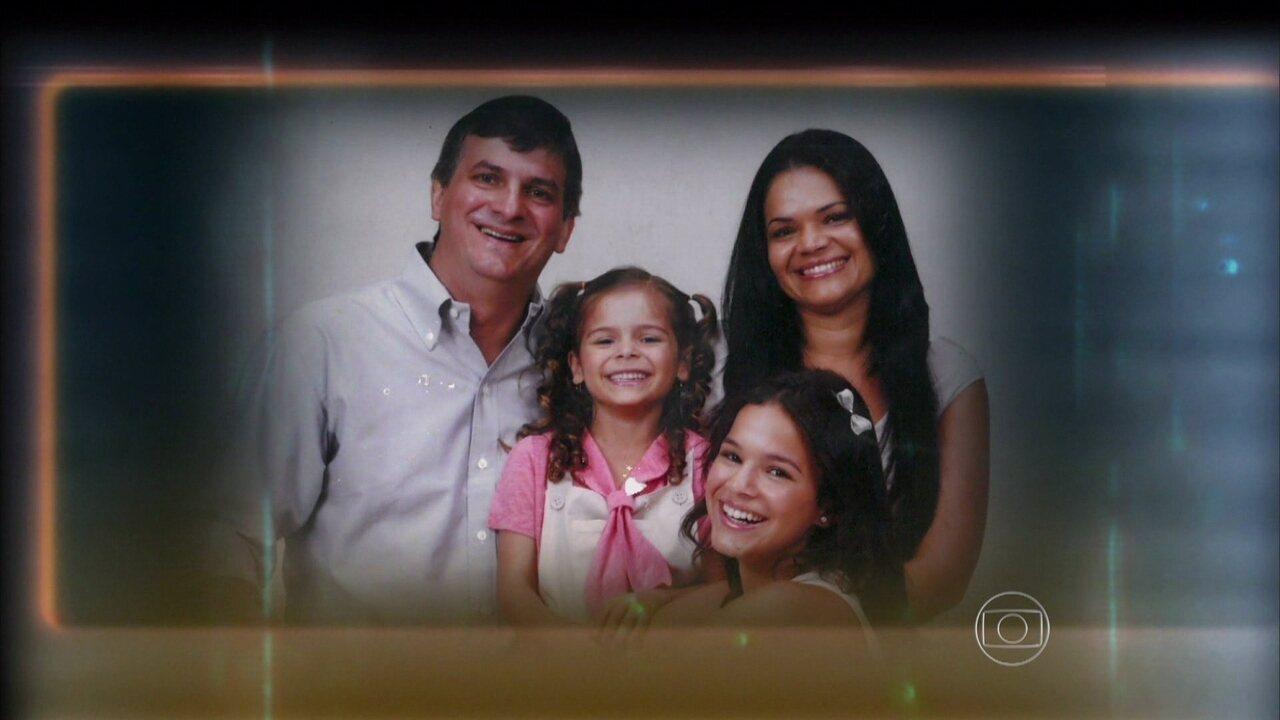 Família de Bruna Marquezine ajuda Caldeirão a relembrar o passado da atriz