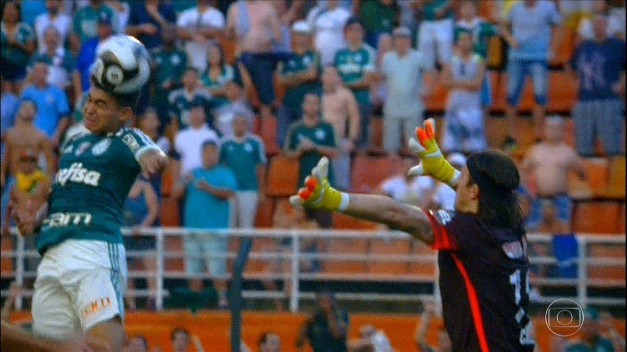 A história completa da vitória do Palmeiras sobre o Corinthians por 1 a 0