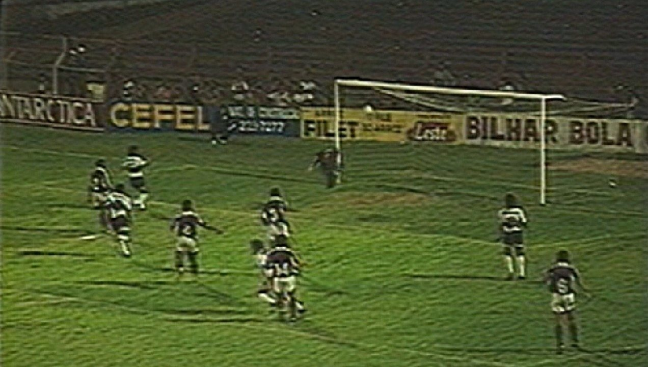 Em 1993, pela Série A do Brasileirão, a Desportiva Ferroviária foi derrotada pelo Coritiba, por 1 a 0