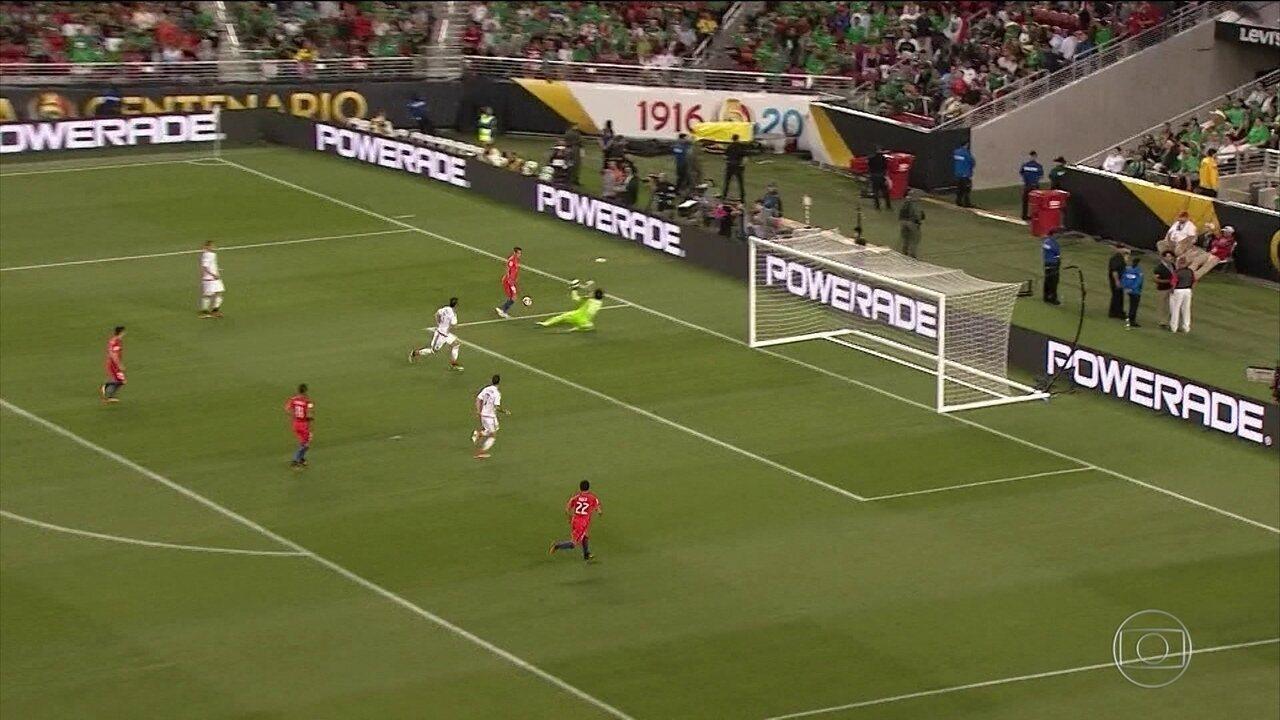 Chile massacra o México por 7 a 0. Veja os gols da goleada humilhante.