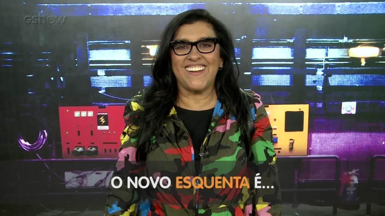 Regina Casé responde a rapidinhas sobre o novo 'Esquenta'