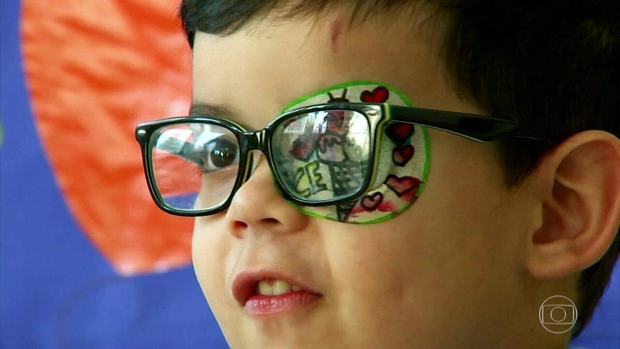209efc44e Bem Estar | Tampão ocular pode virar diversão e minimizar problema na visão  | Globoplay