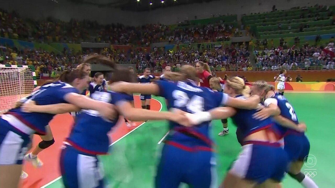 A Rússia conquistou o ouro olímpico na Rio 2016 e chega como favorita de novo