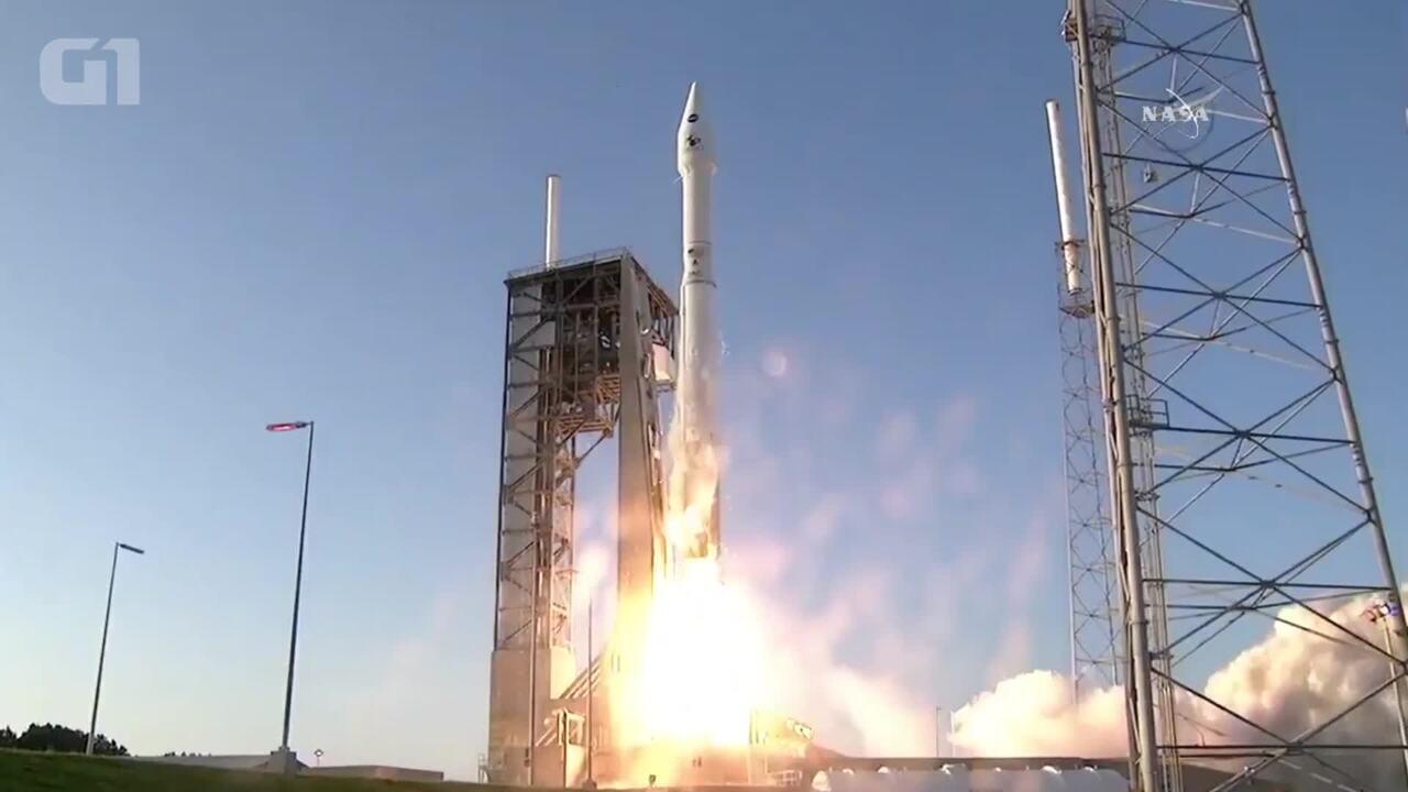 Assista ao momento em que a Nasa lança sonda em direção a asteroide Bennu