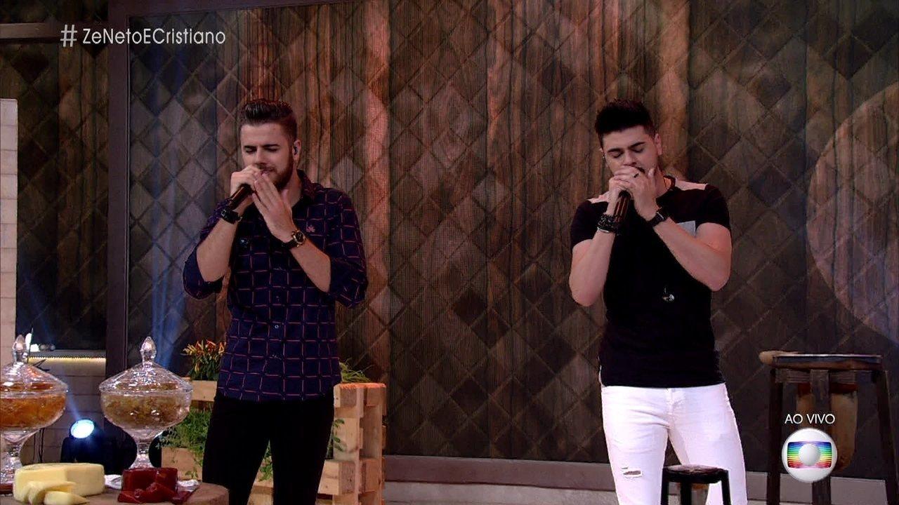 Zé Neto e Cristiano cantam 'Sonha Comigo'
