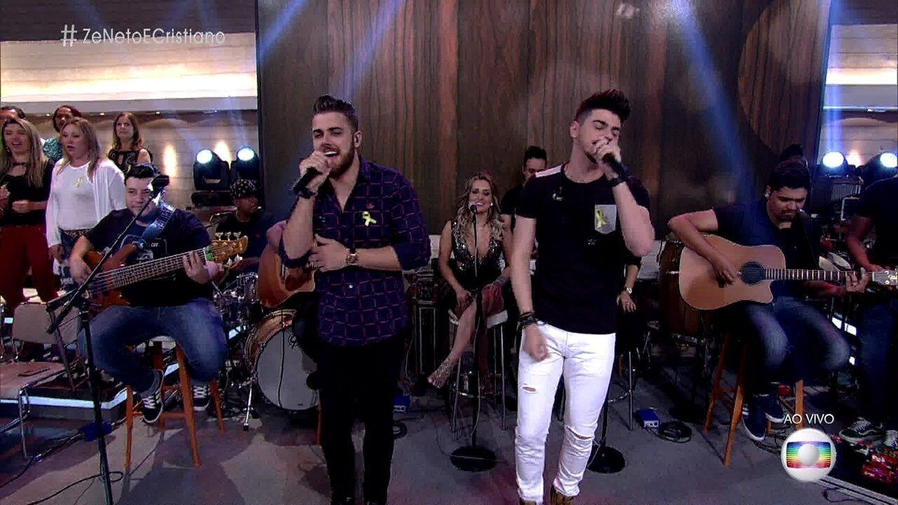 Zé Neto e Cristiano cantam 'Seu Polícia'