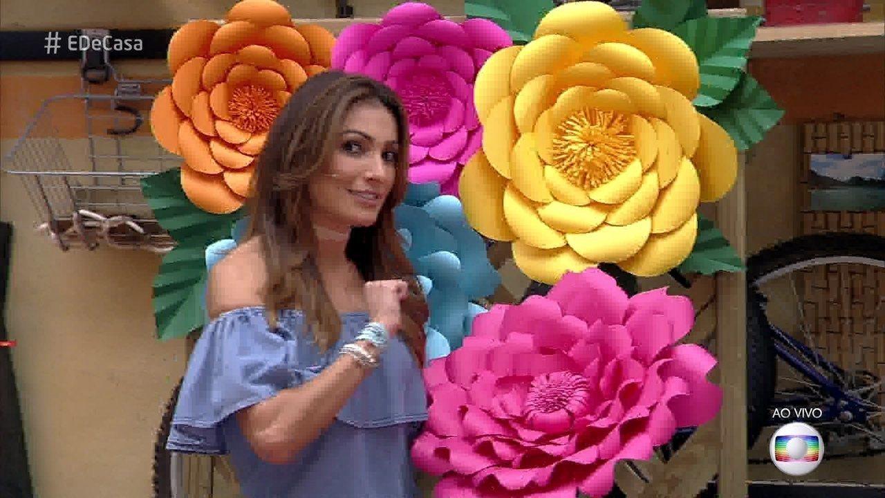 E De Casa Veja Como Fazer Flores De Papel Para Decoracao Globoplay