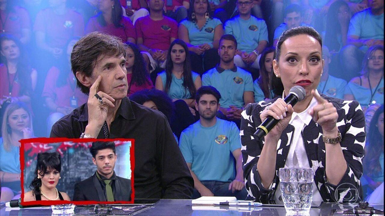 Jurados avaliam apresentação de Letícia Lima, e Ciro Barcelos fala da semelhança de Rafael e Rodrigo Simas