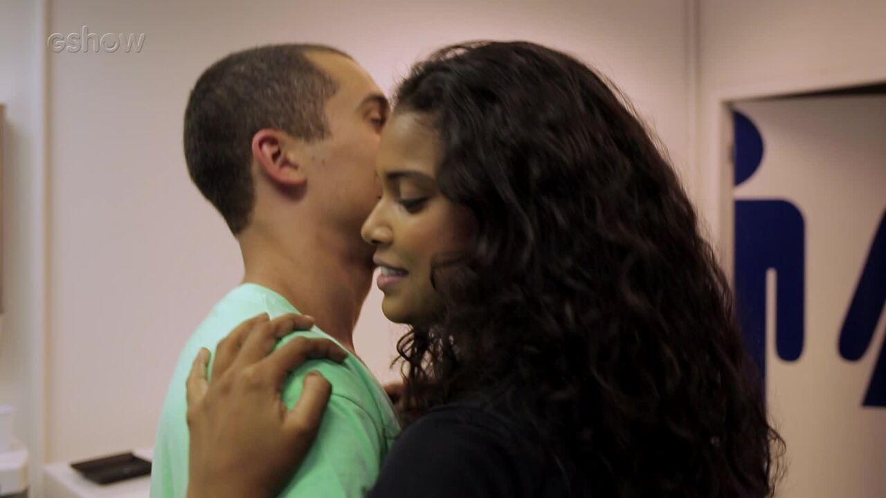 Aline e Ricardo aprendem a dançar forró para cenas de 'Malhação'!