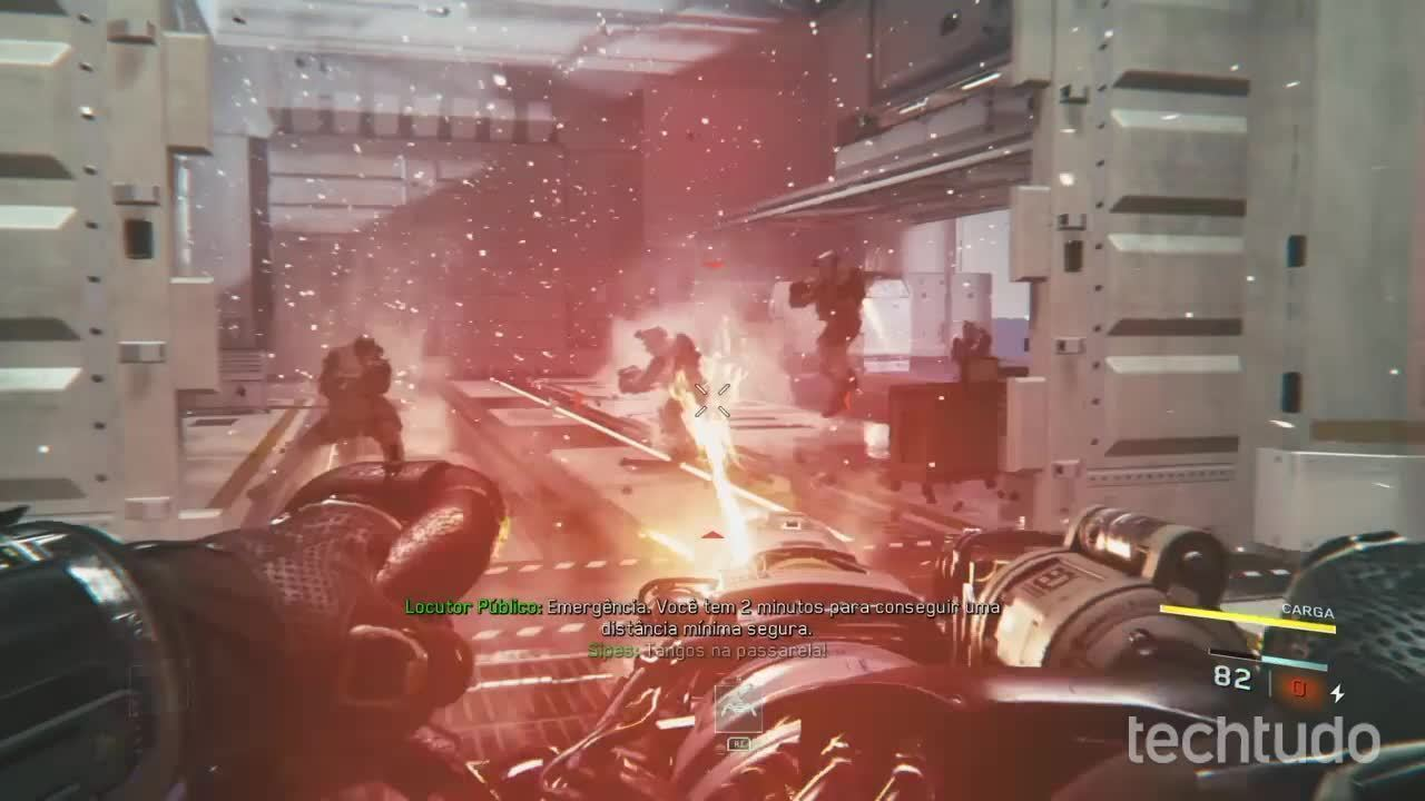 Call of Duty: Infinite Warfar - Primeiros minutos