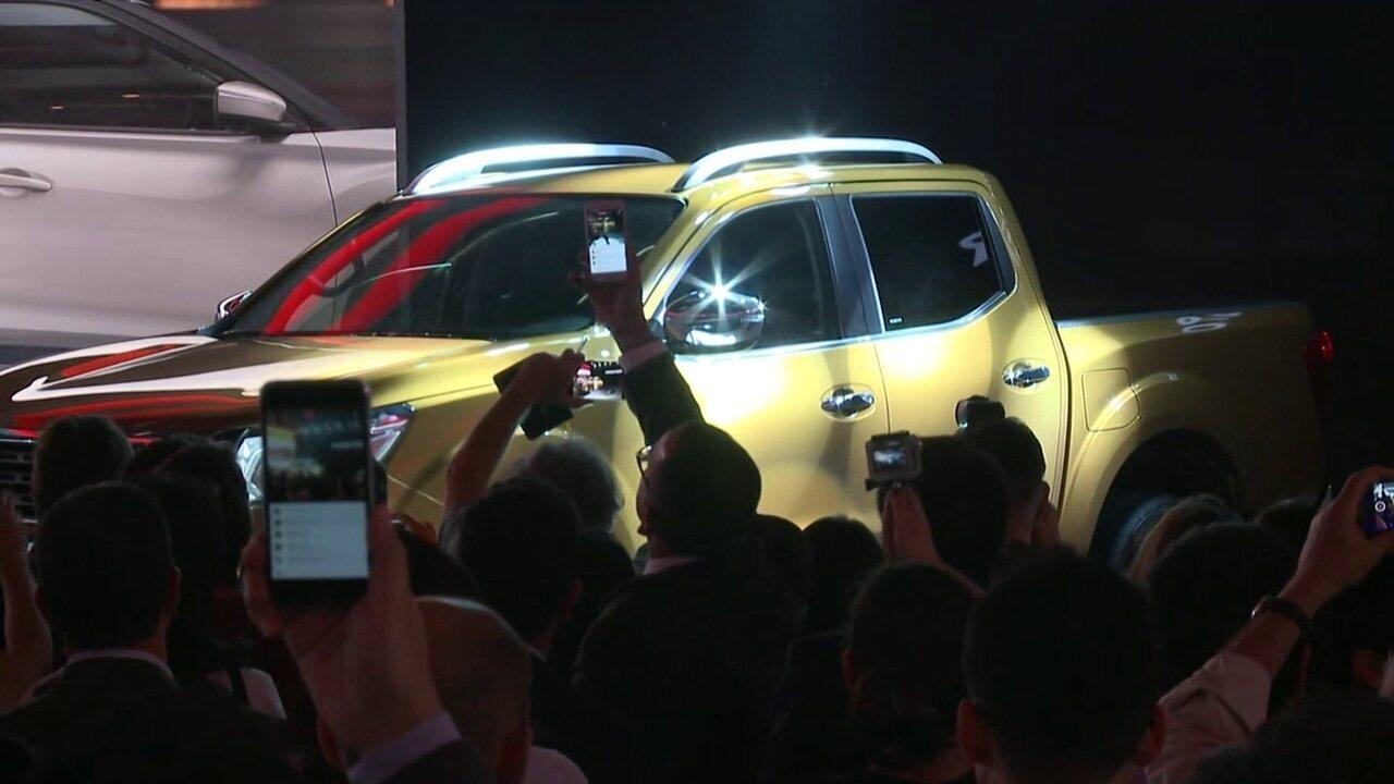 Nissan lança a 12ª geração da picape Frontier no Salão do Automóvel 2016