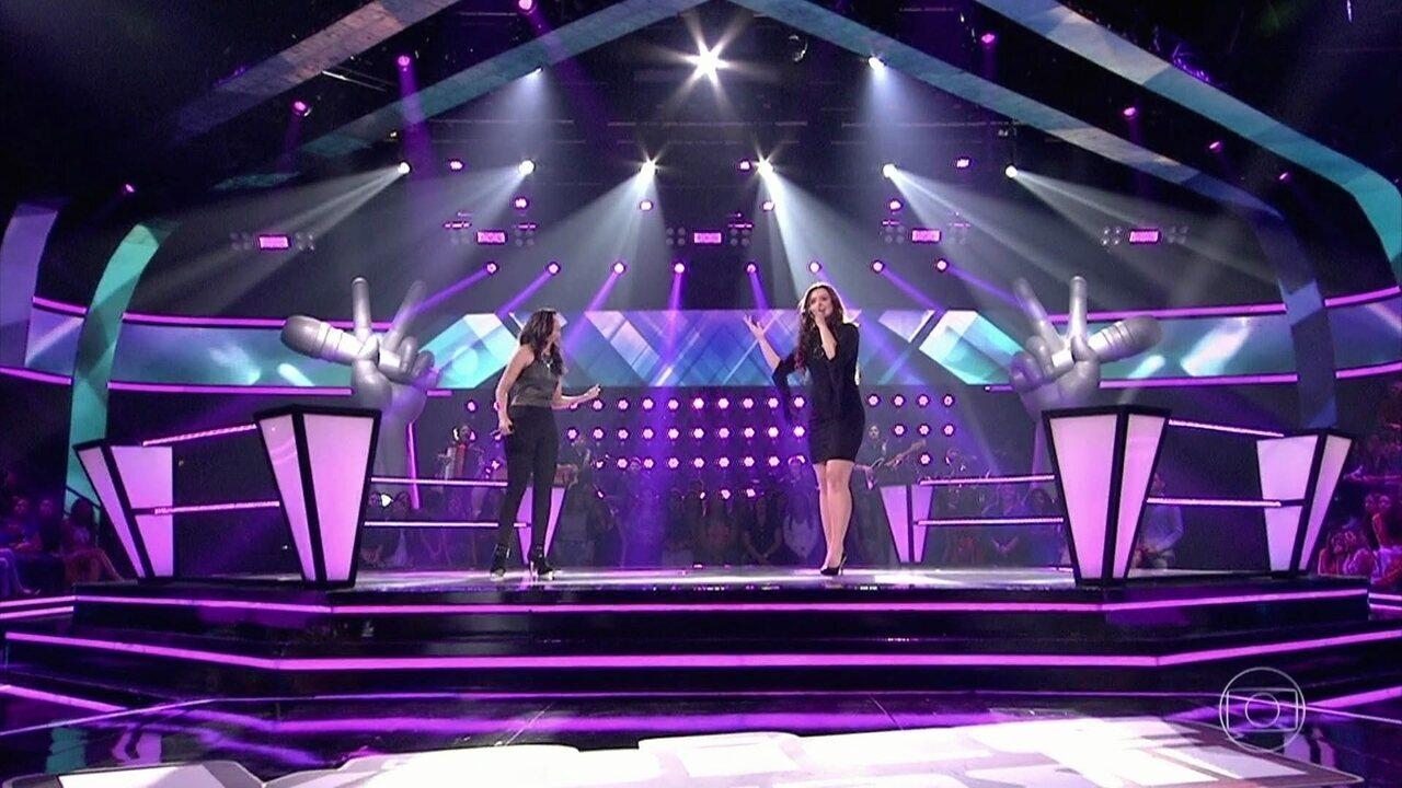 Amanda Lince e Fernanda Silva cantam 'Flor e o Beija-flor'