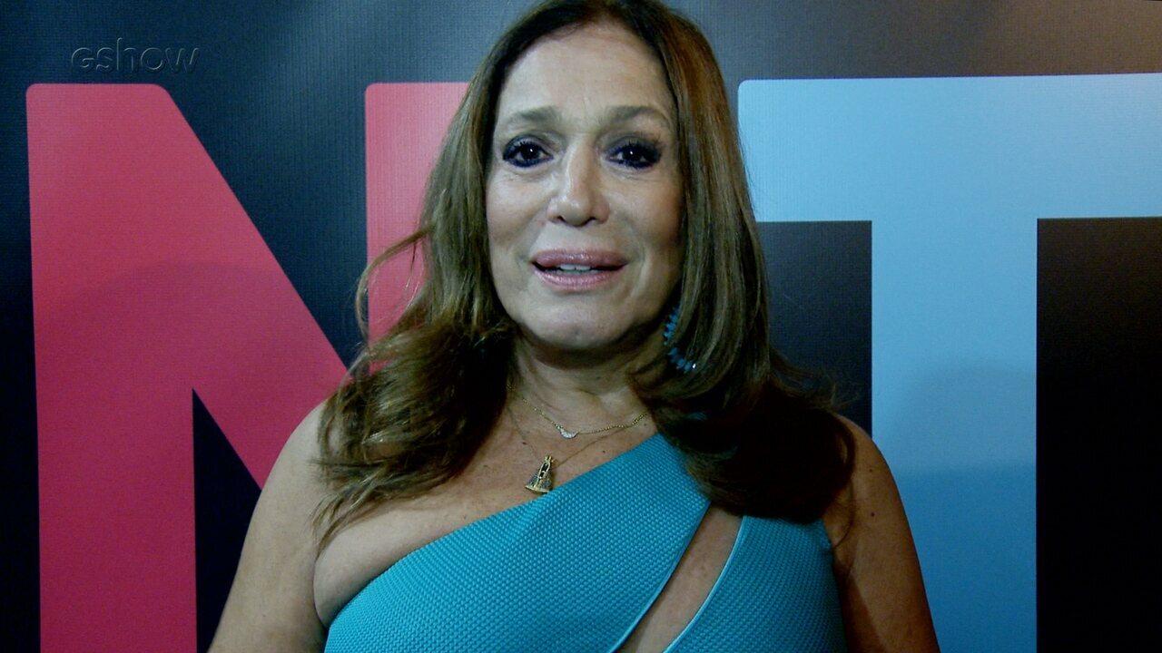 Susana Vieira fala sobre a importância da obra de Roberto Carlos