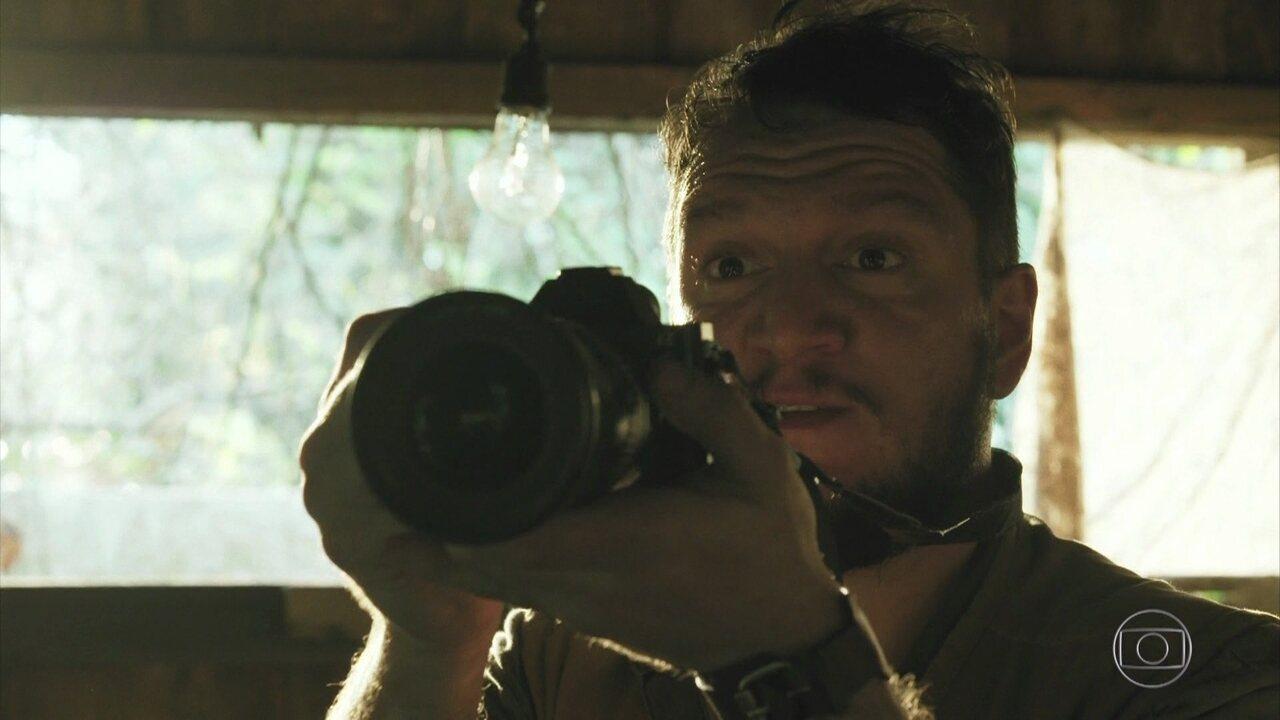 Mauro se surpreende ao chegar em povoado no meio da floresta amazônica