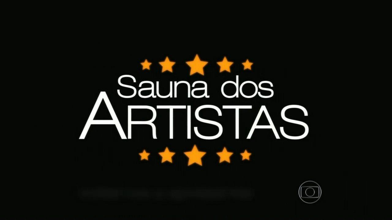 Gagliasso e Thiago Rodrigues se encontram na 'Sauna dos Artistas'