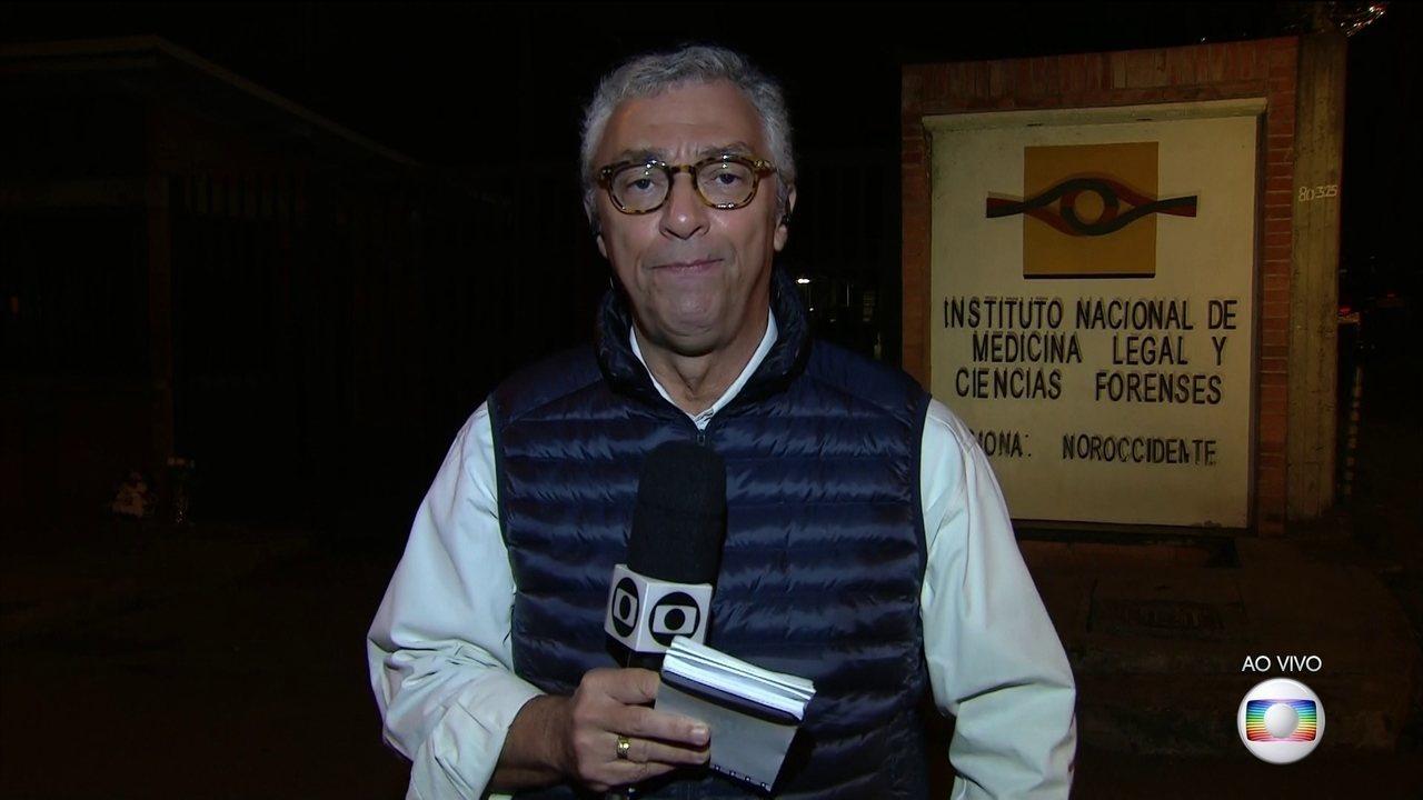 Enviado especial a Medellín revela estado de saúde dos sobreviventes