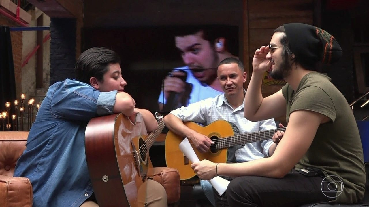 Luan Santana e Ana Vilela ensaiam 'Trem Bala'