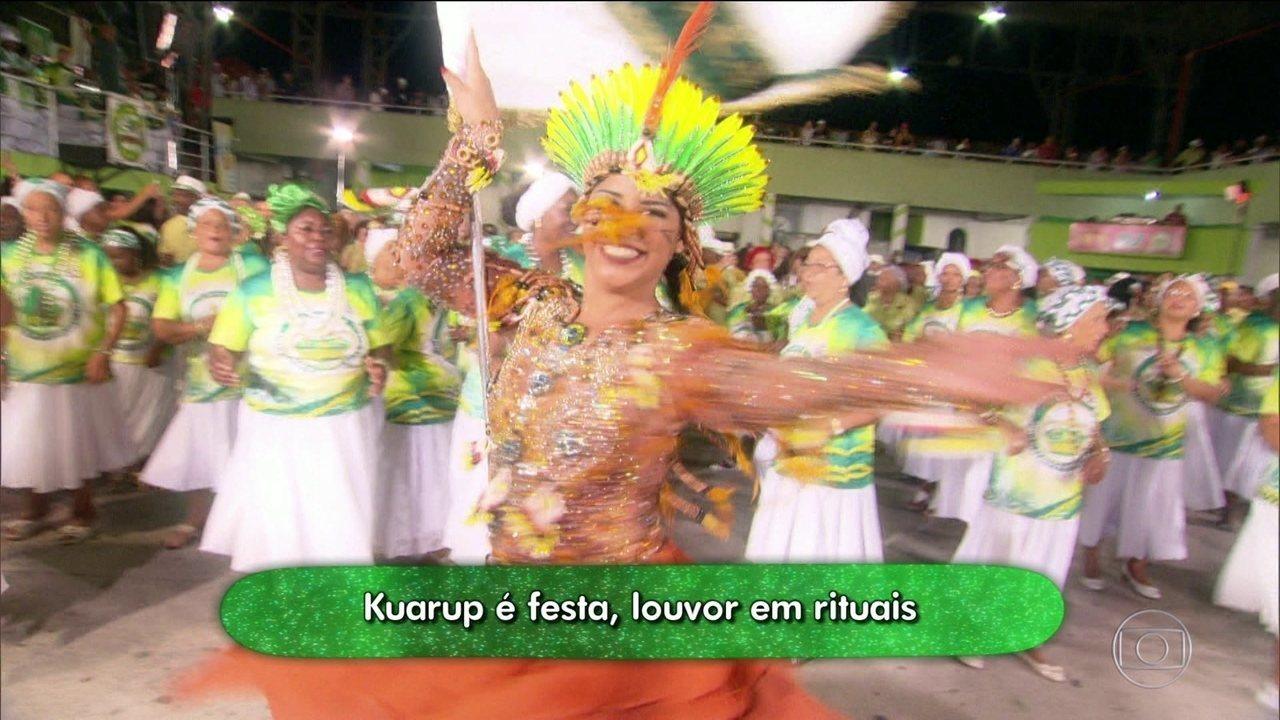 Na reportagem especial da série Enredo e Samba.as surpresas da Imperatriz Leopoldinense