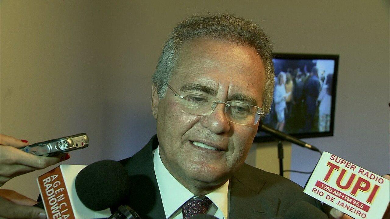 Calheiros diz que, no que depender dele, projeto sobre abuso de autoridade vai ser votado