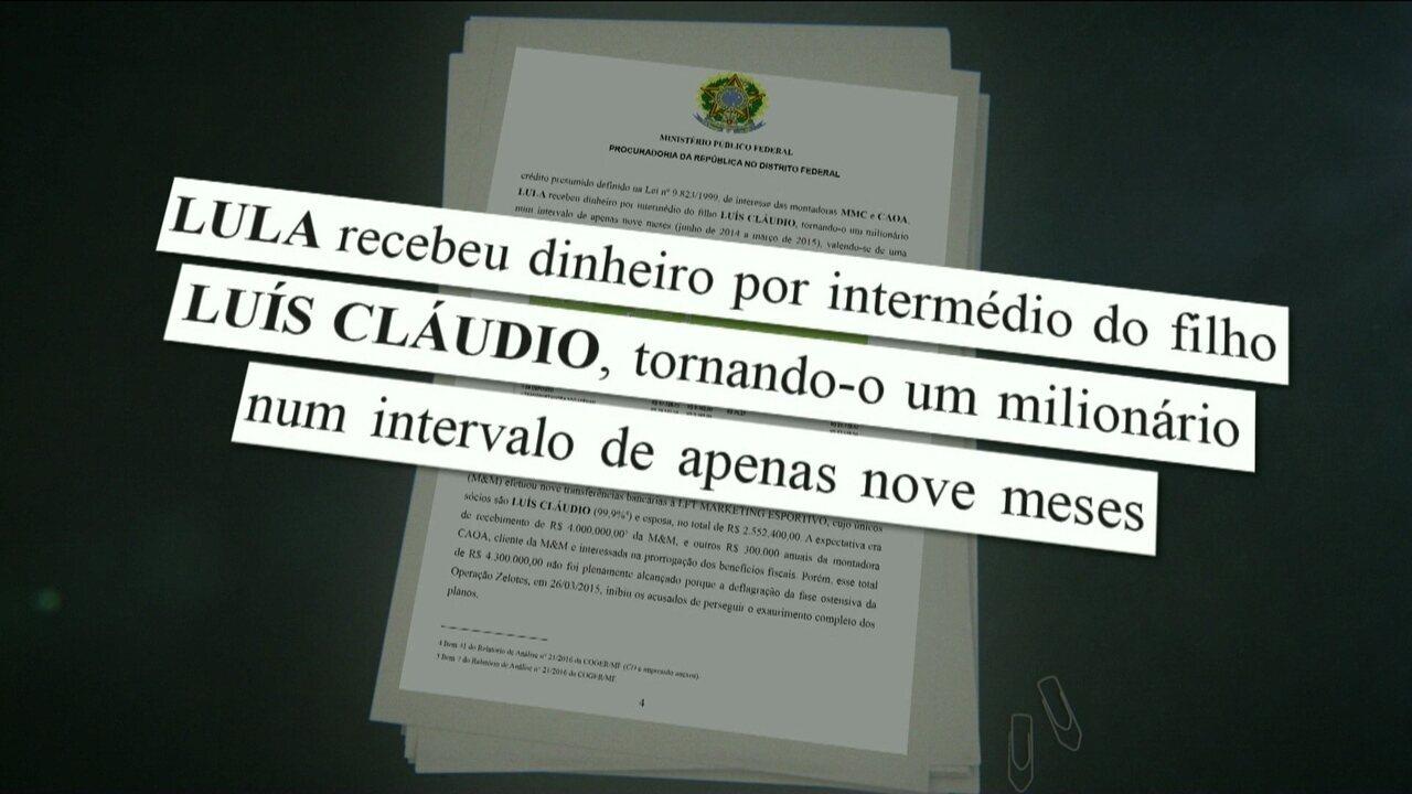 Justiça Federal no DF abre ação penal contra Lula e o filho na Operação Zelotes