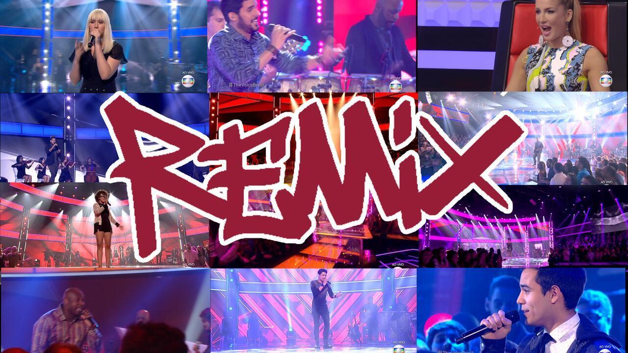 The Voice Repórter #30 - The Voice Brasil Remix