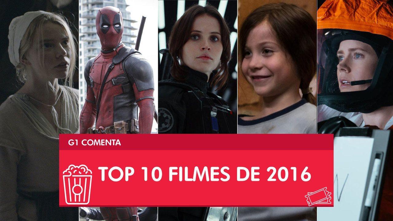 Top 10 do cinema de 2016 tem 'Deadpool', 'Rogue One' e 'A chegada'
