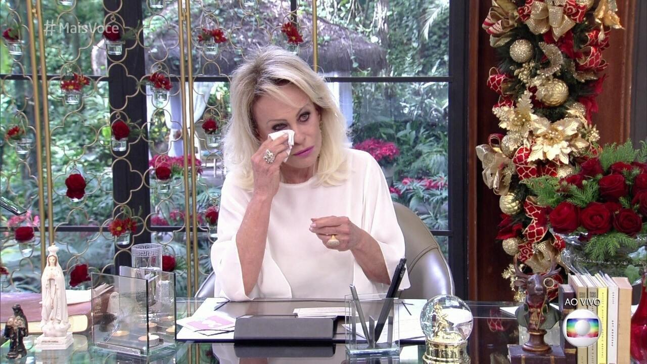 Ana Maria se emociona com a simplicidade da história de Vandreia dos Santos
