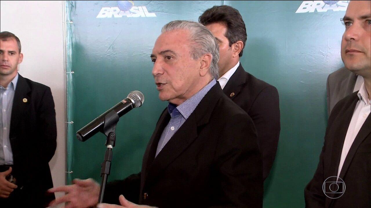 Michel Temer sanciona com veto a renegociação da dívida dos estados