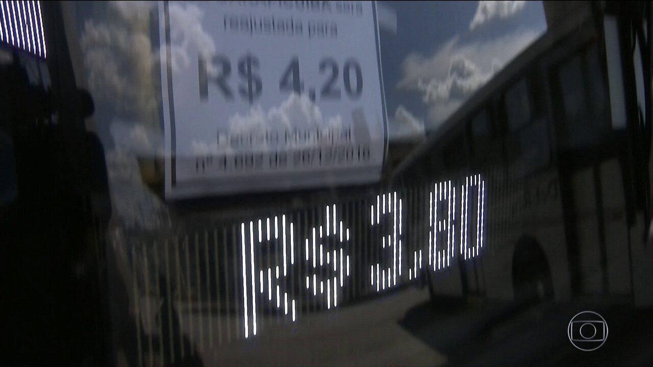 Decisão judicial suspende por cinco dias o aumento da tarifa de ônibus de Guarulhos