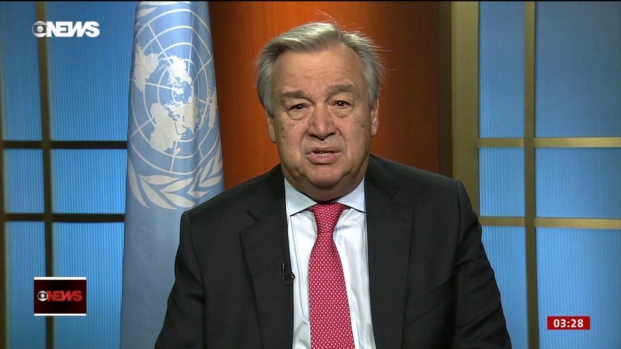 Novo secretário-geral da ONU assume o cargo
