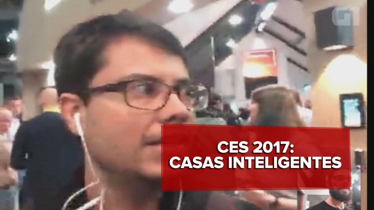 CES 2017: G1 mostra as casas inteligentes da feira de eletrônicos em Las Vegas