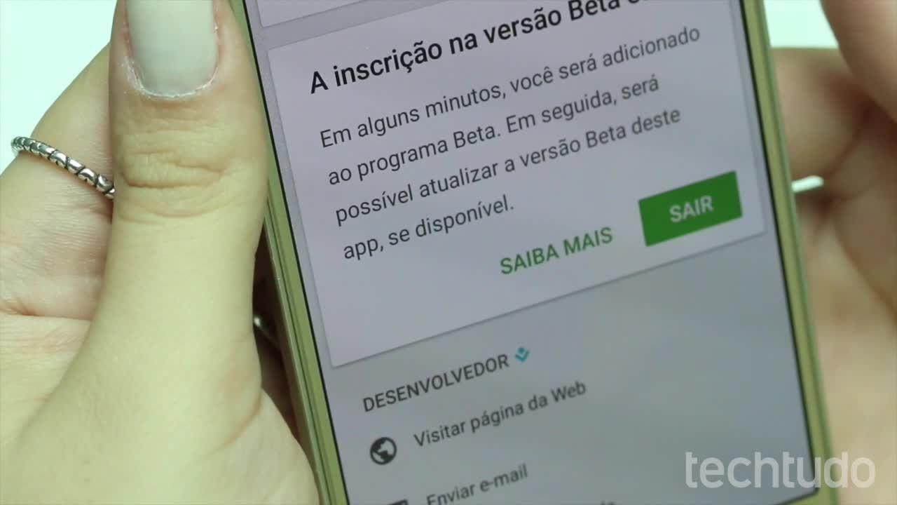 Vídeo mostra como baixar a versão beta e o APK do WhatsApp no Android