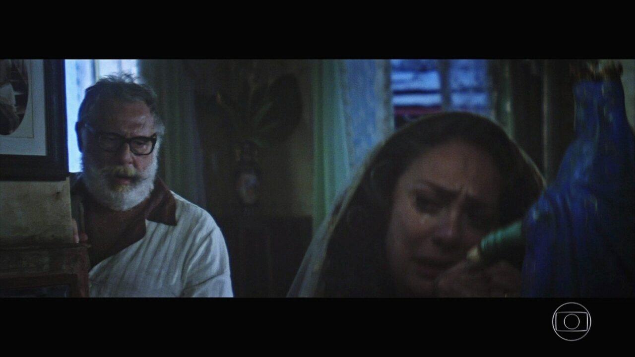 Halim promete à esposa que trará Omar de volta