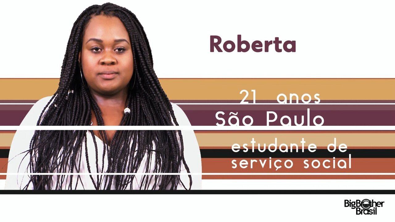 Conheça Roberta, a nova participante do BBB 17