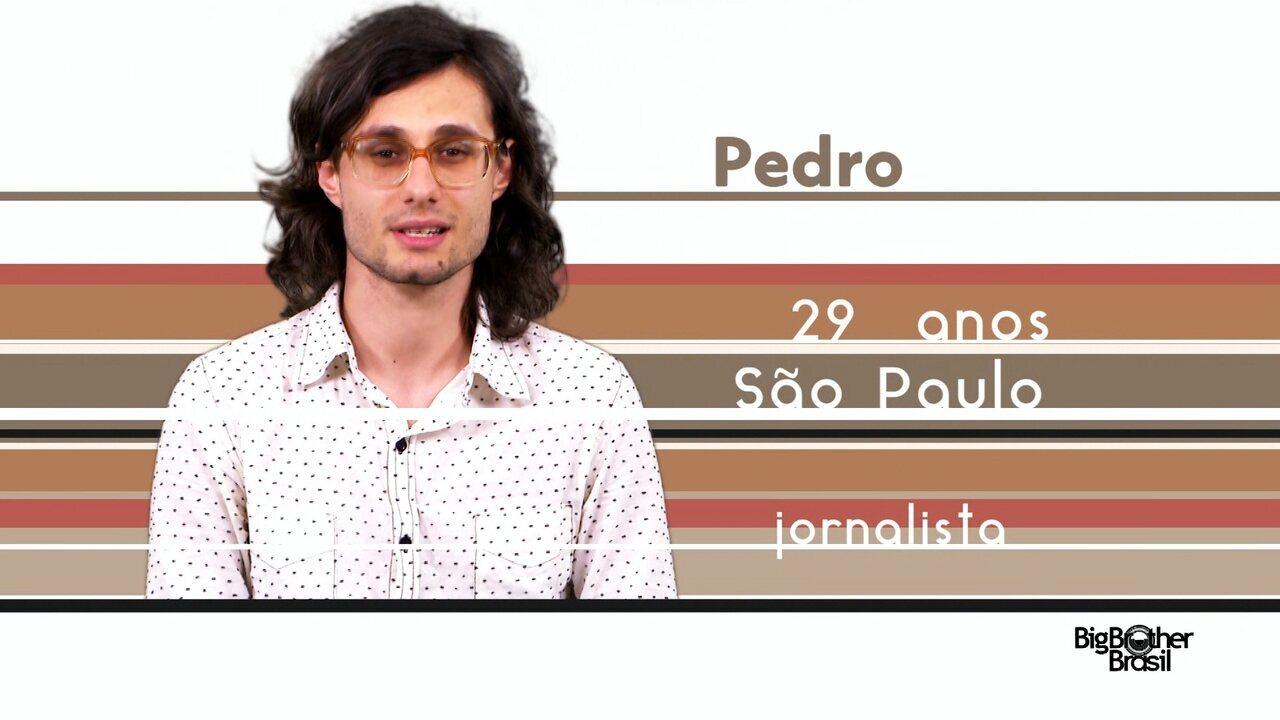 Conheça Pedro, o novo participante do BBB 17