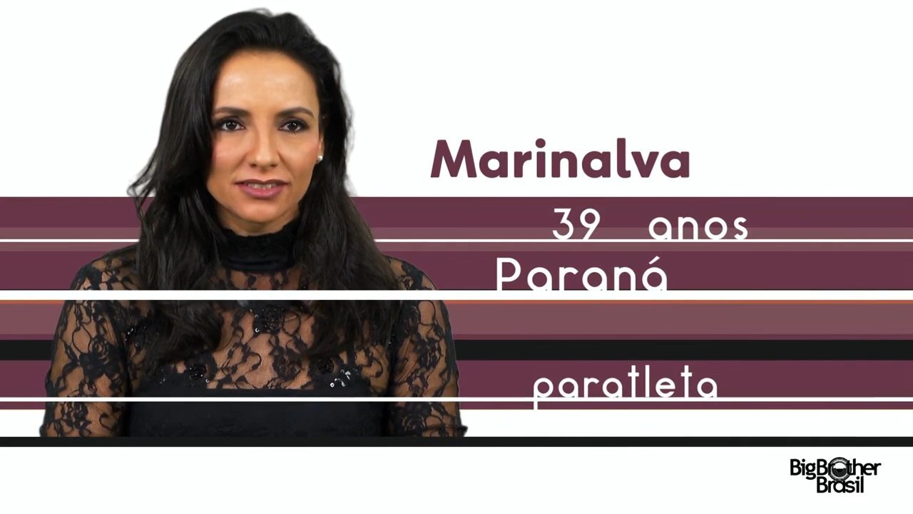 Conheça Marinalva, a nova participante do BBB 17