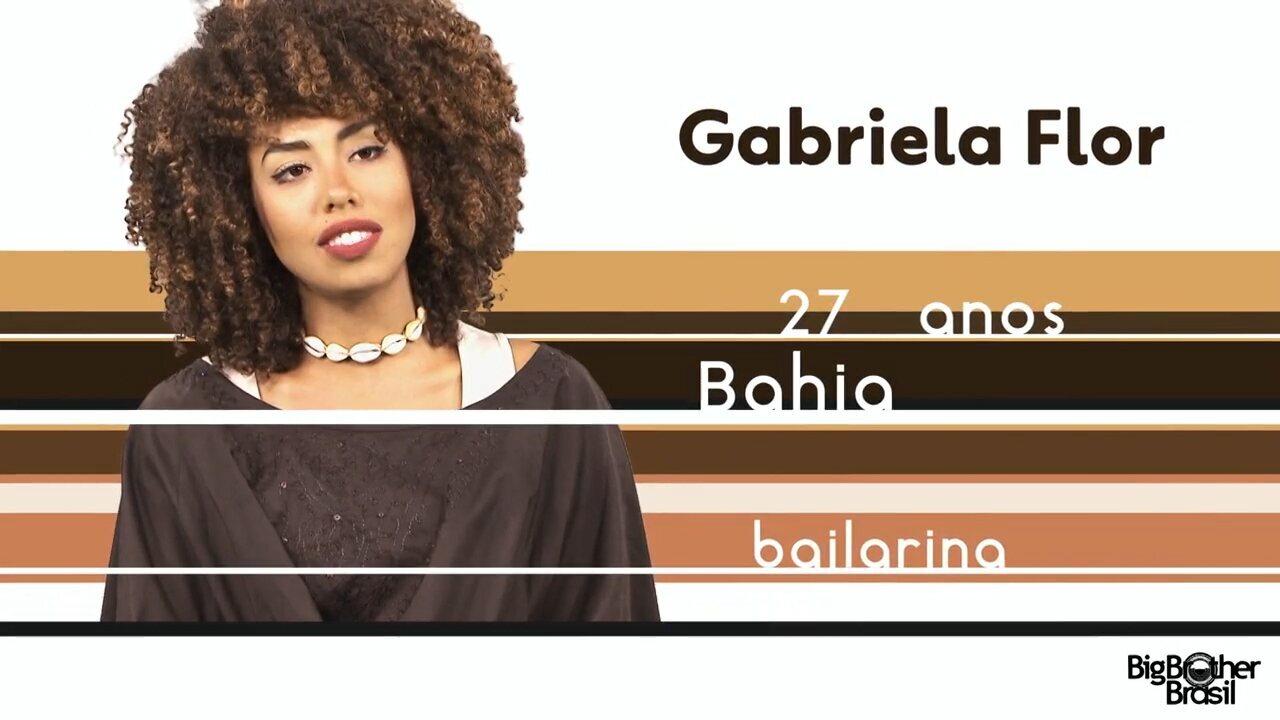 Conheça Gabriela, a nova participante do BBB 17