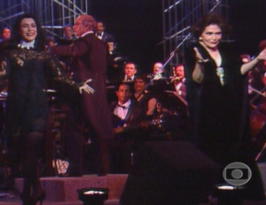 Bibi in Concert: Participação da filha, Tina Ferreira