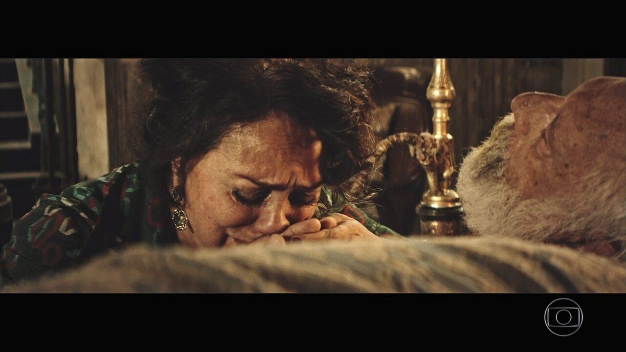 Zana se desespera com morte de Halim
