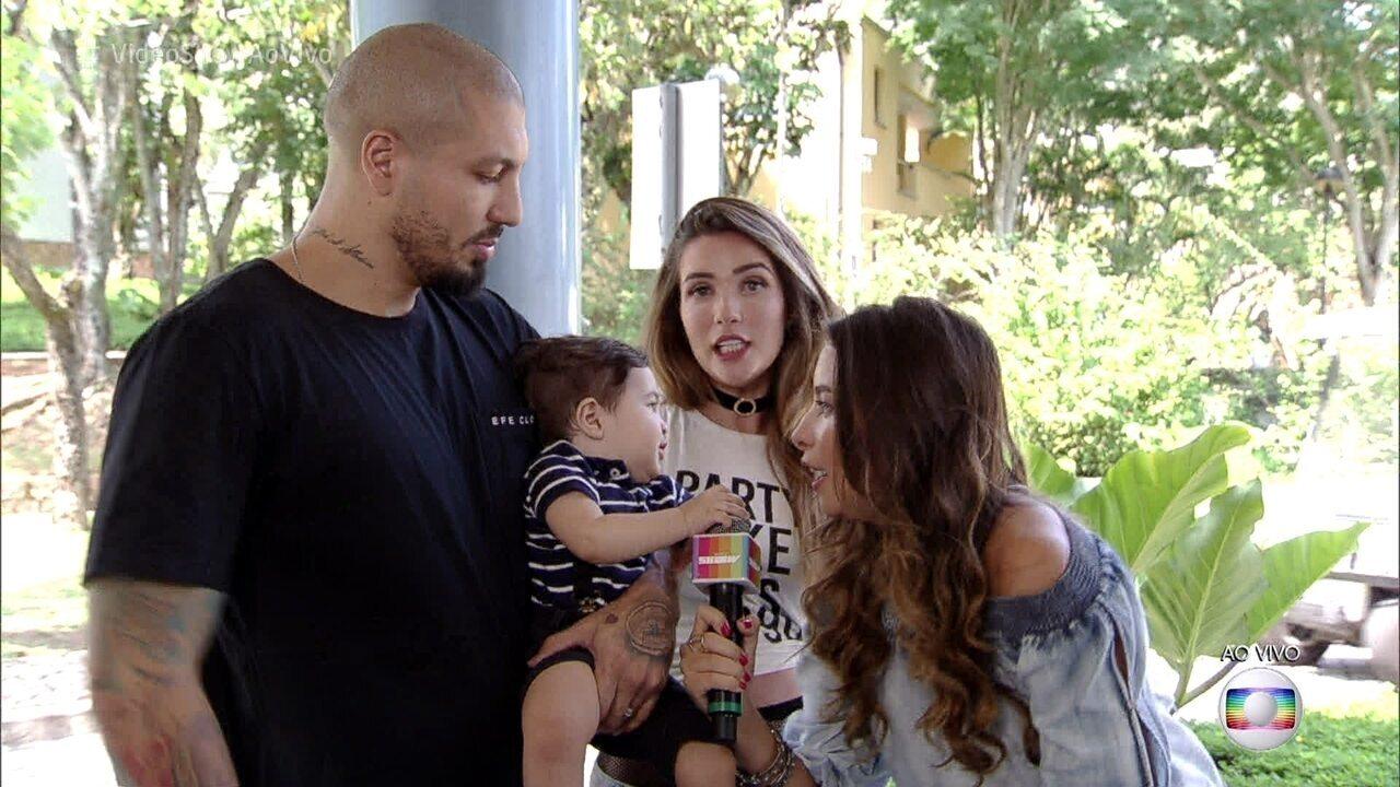 Aline e Fernando falam sobre relacionamento que surgiu dentro da casa do BBB15