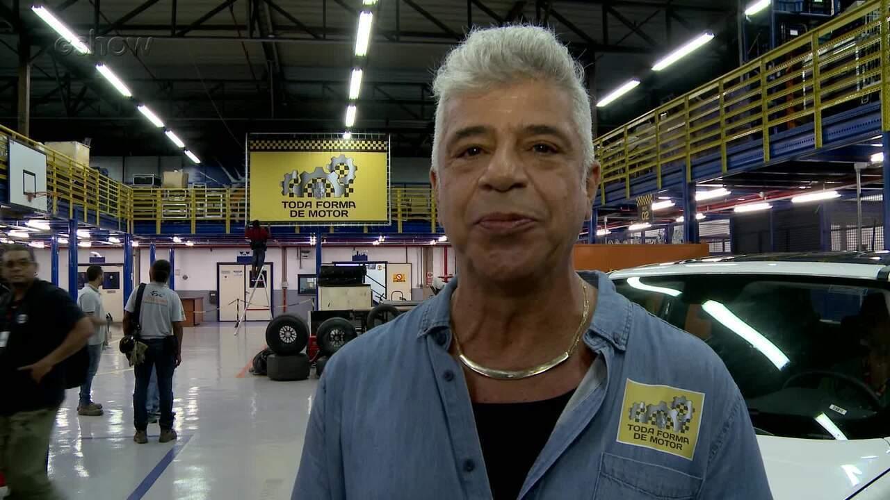 Lulu Santos conta como foi participação na nova temporada do 'Tá no ar'