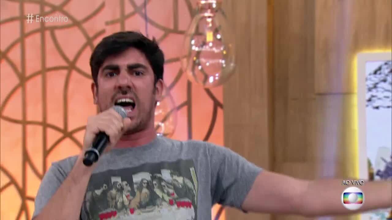 Em paródia para Fátima, Marcelo Adnet canta que apresentadora 'está na pista e solteira'
