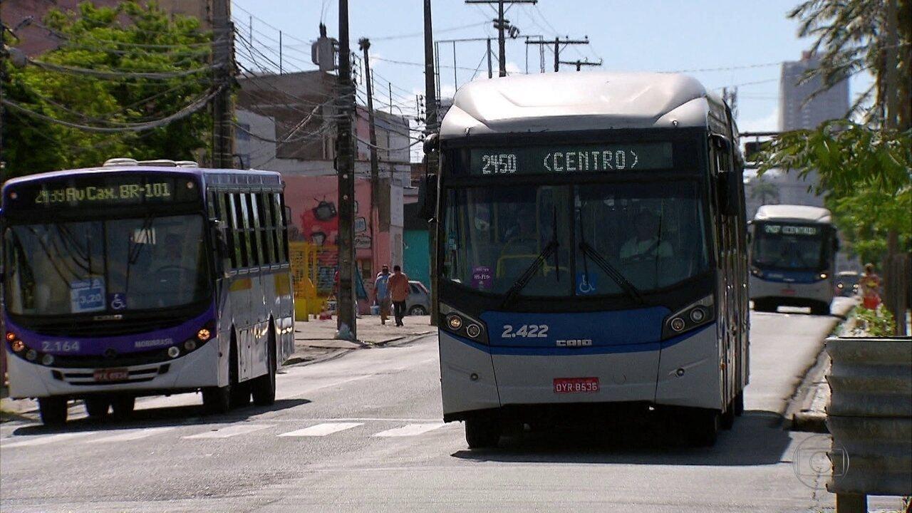 Começou a mudança em linhas de ônibus que passam pela Avenida Caxangá