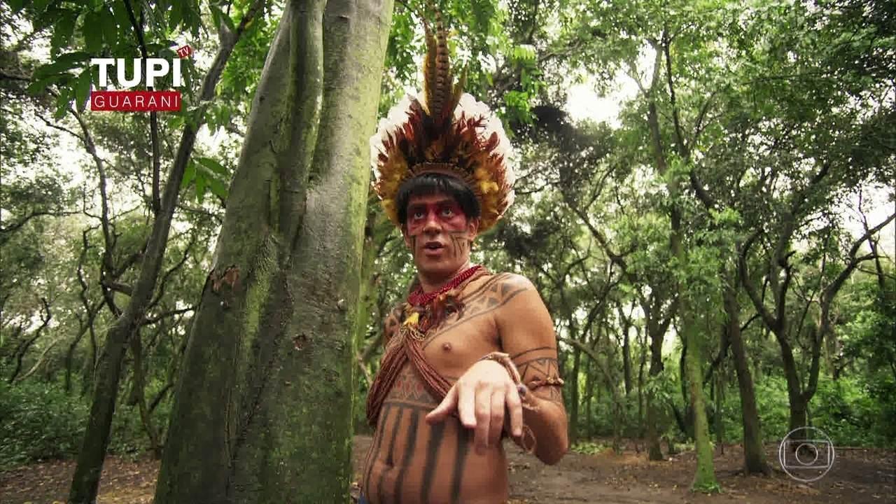 Índio Obirajara é proibido de ver TV