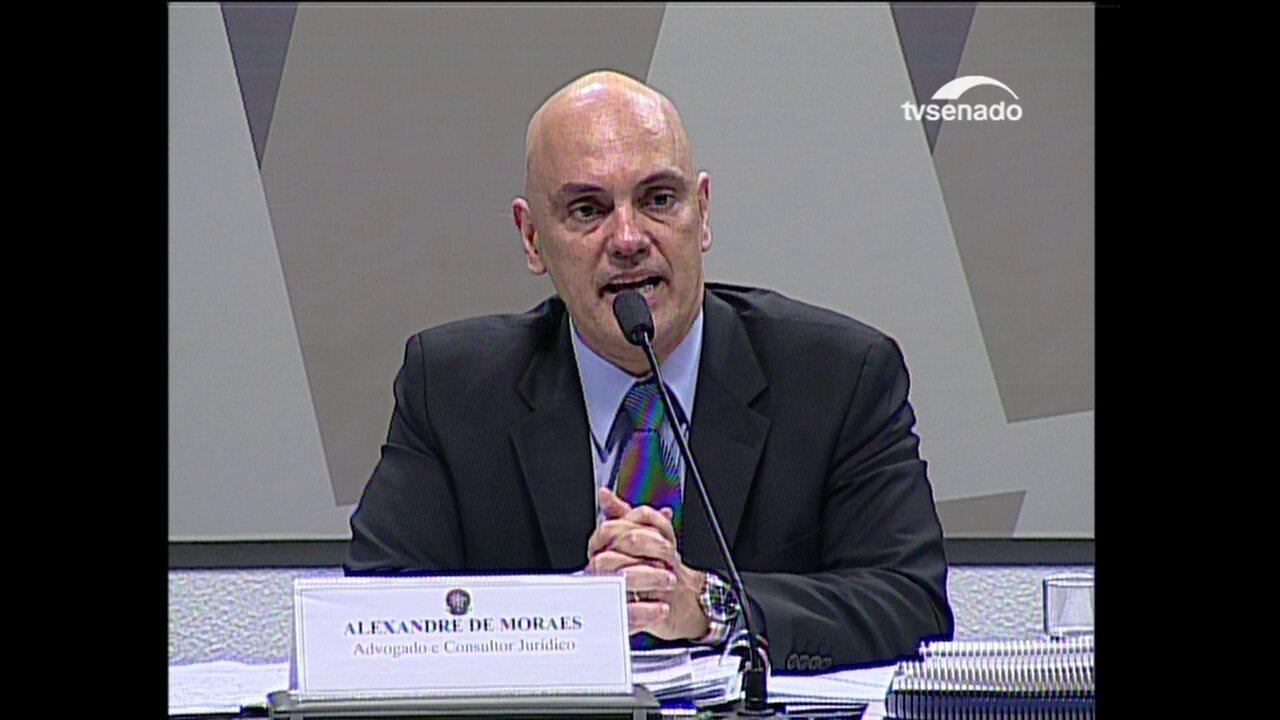 Moraes comenta redução da maioridade penal