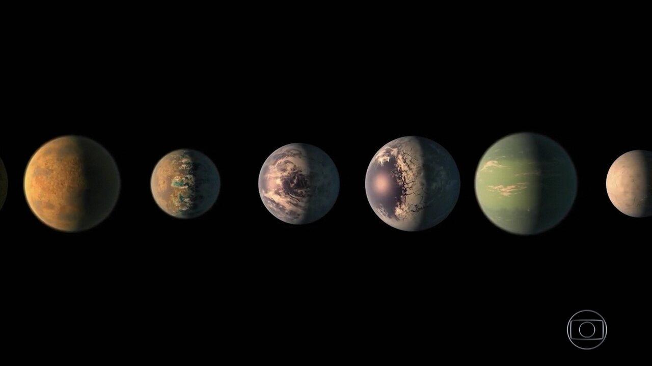 Cientistas descobrem sistema solar com planetas parecidos com a Terra