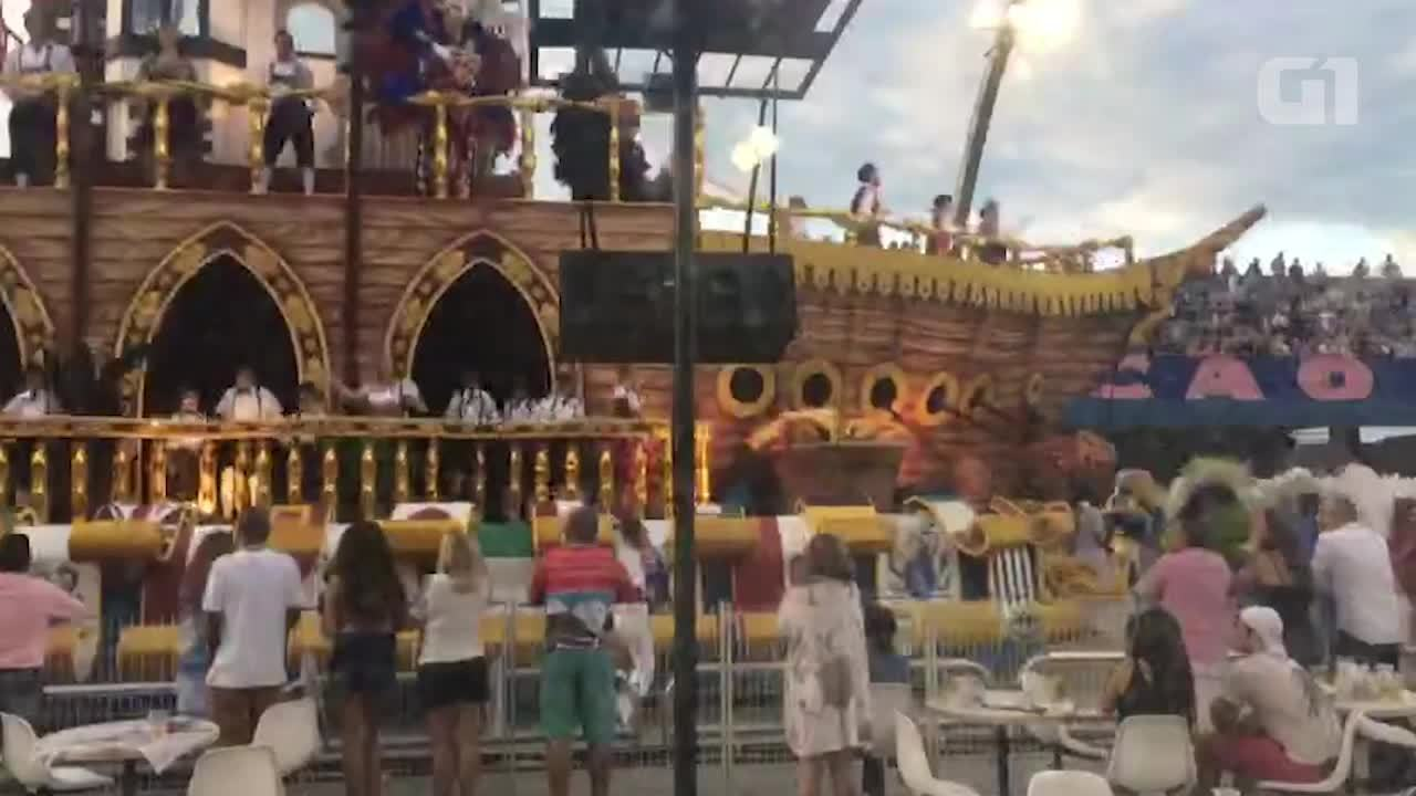 Barco da Nenê de Vila Matilde faz pit-stop em vídeo time-lapse