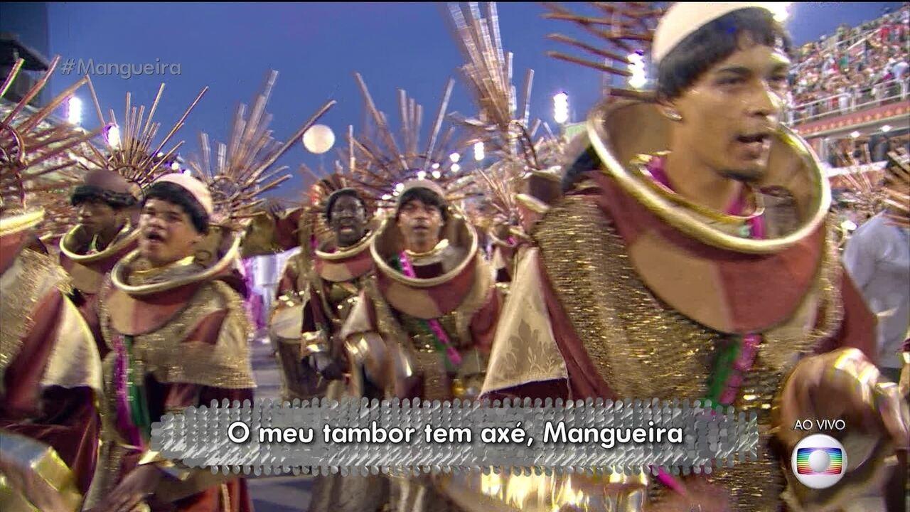 Mangueira pede ajuda a 'todos os santos' em busca do bicampeonato