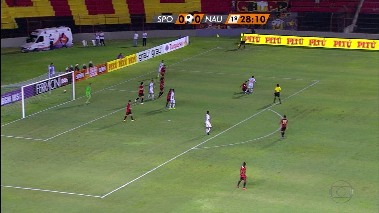 Primeiro gol de Erick em clássico contra o Sport foi em um empate na Ilha; veja